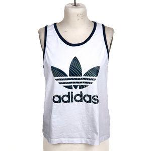 Adidas Originals Sz L Retro Woman's Athletic Tank
